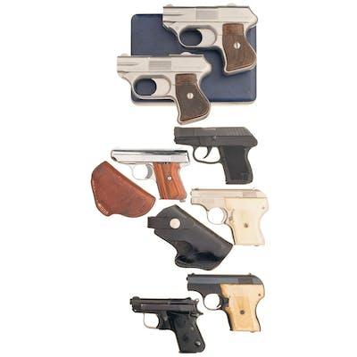Seven Pocket Pistols
