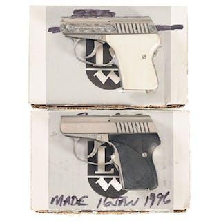 Two Boxed L W  Seecamp Semi-Automatic Pistols – Current