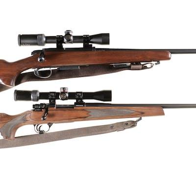 Two Scoped Remington Bolt Action Rifles