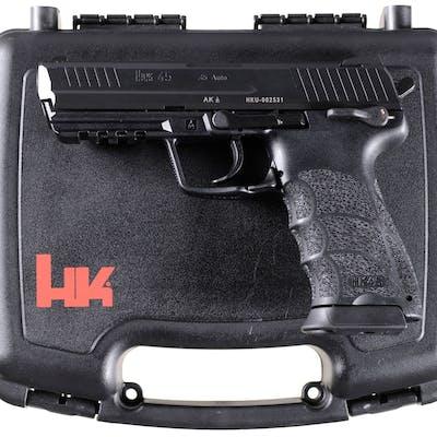 Heckler & Koch HK45 Semi-Automatic Pistol with Case