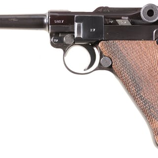 "Mauser ""42"" Code 1939 Date Luger Semi-Automatic Pistol"