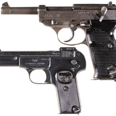 Two European Semi-Automatic Pistols