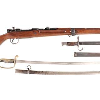Japanese Kokura Arsenal Type 99 Bolt Action Rifle with Saber