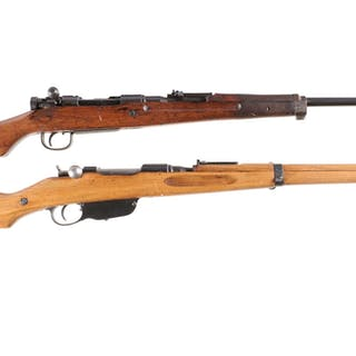 Two Military Bolt Action Long Guns