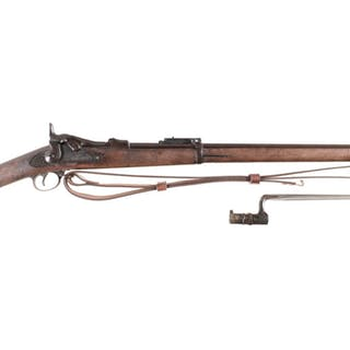 U.S. Springfield Model 1884 Trapdoor Cadet Rifle with Bayonet