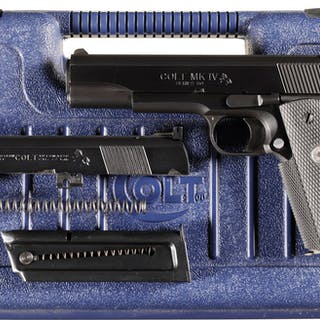 Colt MK IV Series 80 Government Model Pistol with Case