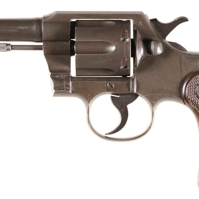 Early Three-Digit Serial Number Colt Commando Revolver