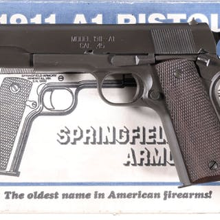 Springfield Armory Model 1911-A1 Semi-Automatic Pistol with Box