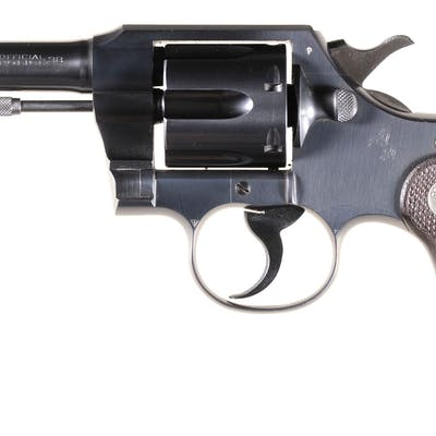 Colt Official Police Model Double Action Revolver
