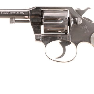 Colt Police Positive Double Action Revolver with Factory Letter