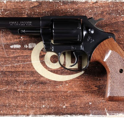 Colt Police Positive Double Action Revolver with Box