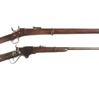 Two Antique Long Guns