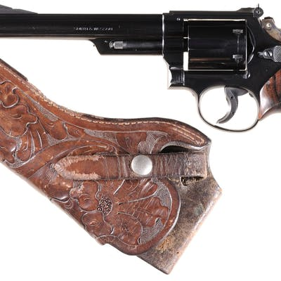 Smith & Wesson Model 53 Double Action Revolver with Holster