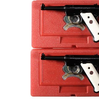 Two Consecutively Numbered William Ruger NRA Endowment Pistols