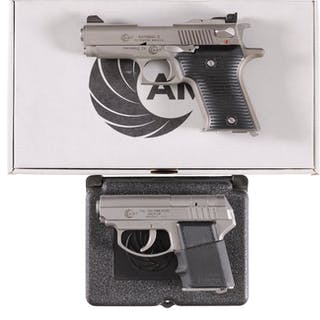 Two AMT Semi-Automatic Pistols