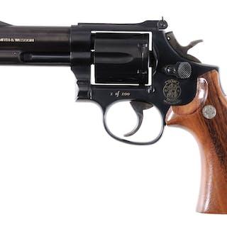 S&W Model 586 Revolver, Arkansas Municipal Police, w/Case