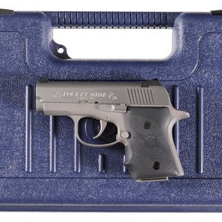 Colt Series 90 pocket Nine Semi-Automatic Pistol with Case