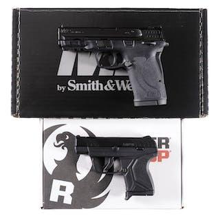 Two Boxed Semi-Automatic Pistols