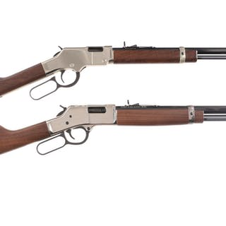 Two Henry Lever Action Rifles