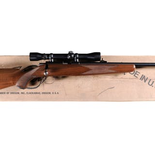 Kimber model 82 Boolt Action Rifle with Scope and Box