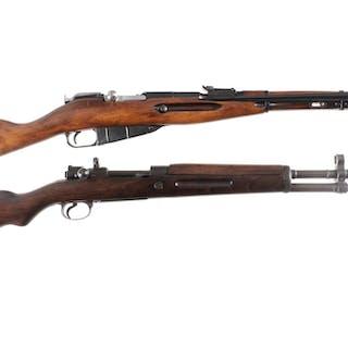 Two European Military Bolt Action Rifles