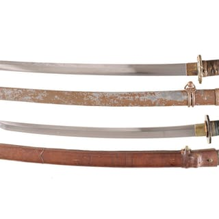 Two Japanese Swords