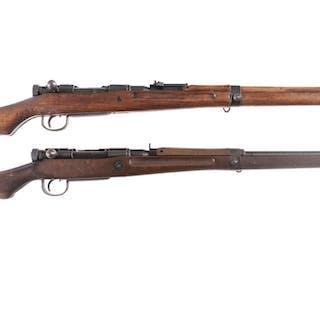 Two Japanese Kokura Type 99 Bolt Action Rifles