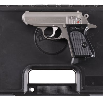 Walther/Smith & Wesson PPK Semi-Automatic Pistol with Case