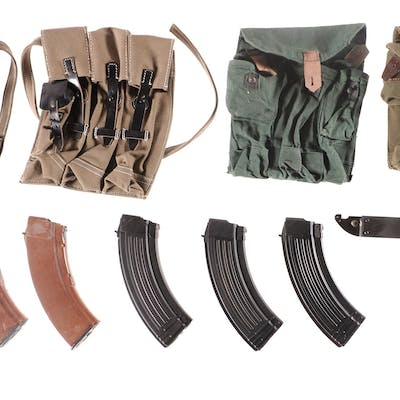 Group of Assorted Accessories, Mostly AK-Style
