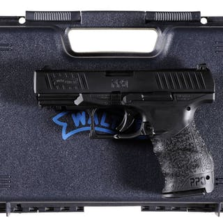 Walther PPQ Semi-Automatic Pistol with Case