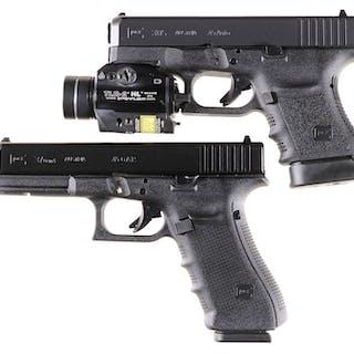 Two Glock Semi-Automatic Pistols