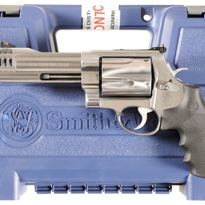 Smith & Wesson 460 VXR Double Action Revolver with Case