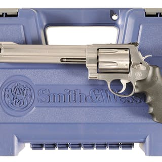 Smith & Wesson Model 500 Double Action Revolver with Case