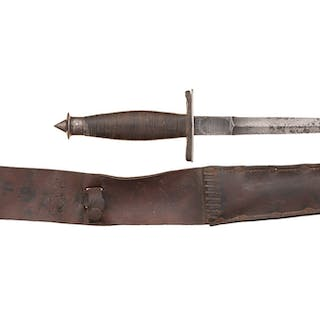 Scarce World War II Case V-42 Stiletto with Sheath – Current