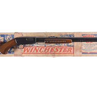 Winchester Model 61 Slide Action Rifle in .22 Short