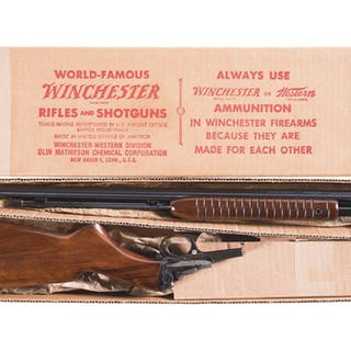 Winchester Model 61 Slide Action Rifle in .22 LR for Shot Only