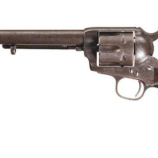 U.S. David F. Clark Colt Single Action Army Cavalry Revolver