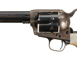 First Generation Colt Single Action Army Revolver