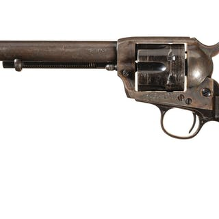 Colt First Gen. Single Action Army Revolver with Factory Letter