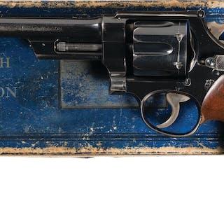 Elmer Keith's S&W 38/44 Outdoorsman Test Revolver