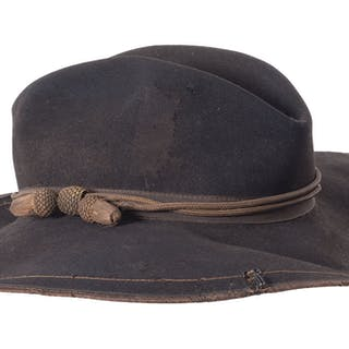 1872 Officer's Campaign Hats with Letter of Provenance and Book