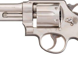 """S&W .44 HE First  Model Triple Lock Revolver, 5"""" Barrel"""