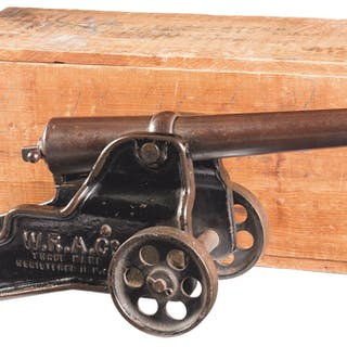 Winchester Signal Cannon with Scarce Winchester Factory Crate