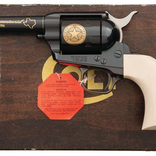Colt Factory Collection Texas Sesquicentennial Revolver