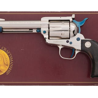 Colt Third Generation New Frontier Single Action Army Revolver