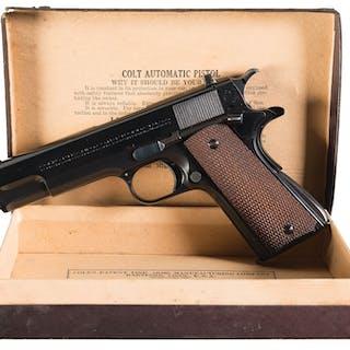 Excellent Colt Ace Pistol with Box, Factory Letter