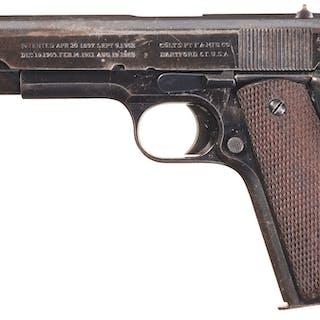 World War I Era Colt Government Model with British Proofs