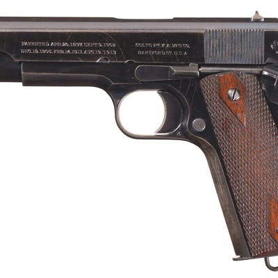 Colt Gov't Model Pistol, Documented Canadian Government Purchase