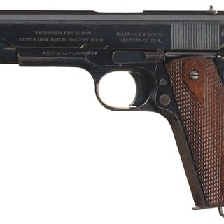 U.S. Navy Contract Colt Model 1911 Pistol with Factory Letter