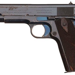 Colt Gov't Model Pistol, S/N C194, Colt London Office Shipped